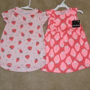 Bundle of Strawberry Dresses